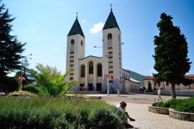 Medjugorje, Esaltazione della Croce 2014: Chiesa di San Giacomo Apostolo a Medjugorje (3) – Foto di Sardegna Terra di Pace – Tutti i diritti riservati