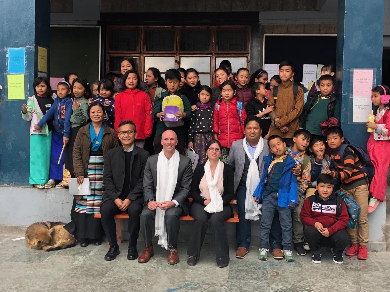 Senior PRM Delegation Visits Dharamsala
