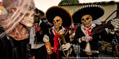 Dead Mariachis in Oaxaca, Mexico