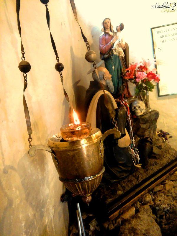 Statua di Sant'Ignazio all'interno della sua casa natale