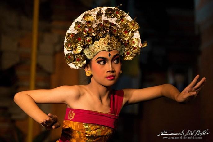 Danzatrice dell'Isola di Bali