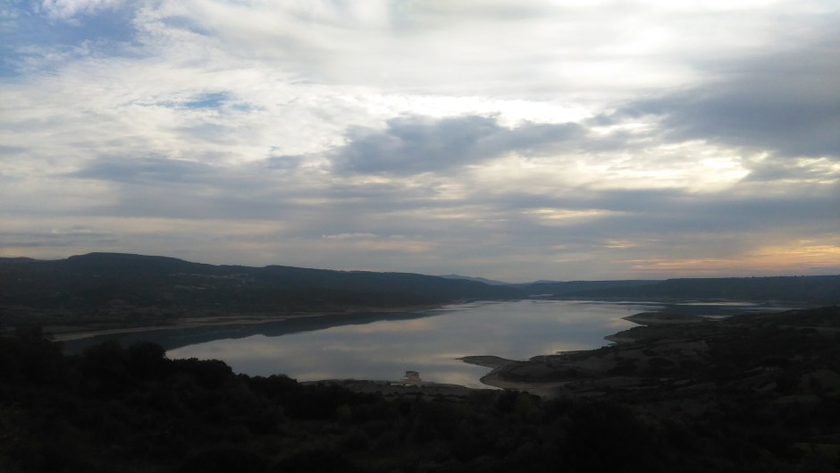Vista sul lago - Sedilo