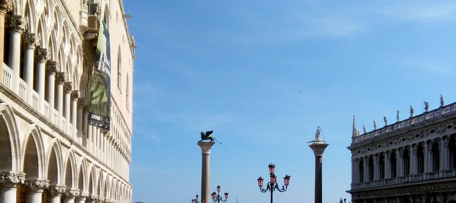 Il leone in Pazza San Marco
