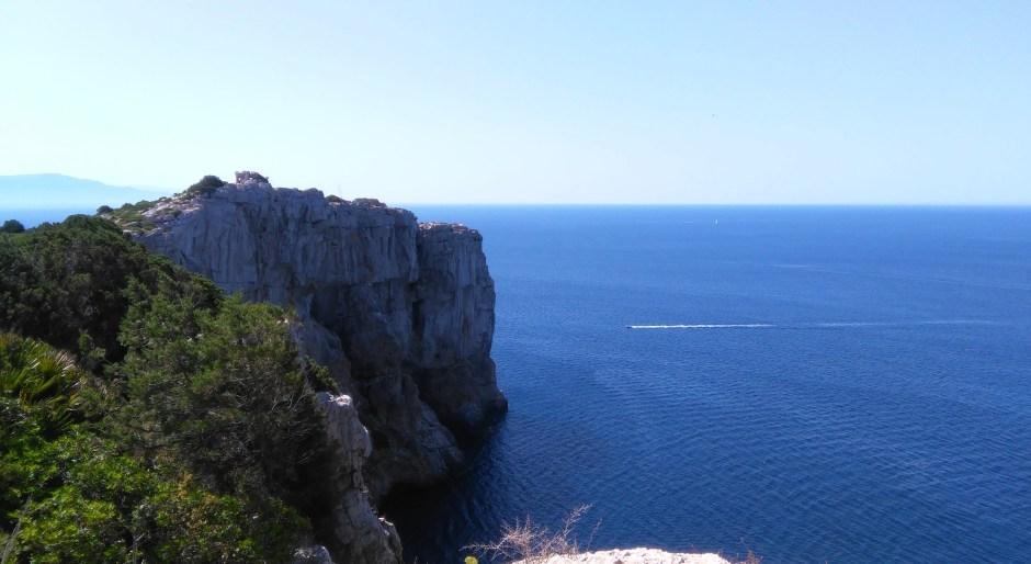In cima a Punta Giglio