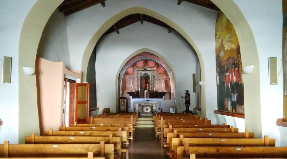 Interno della chiesa di San Lussorio