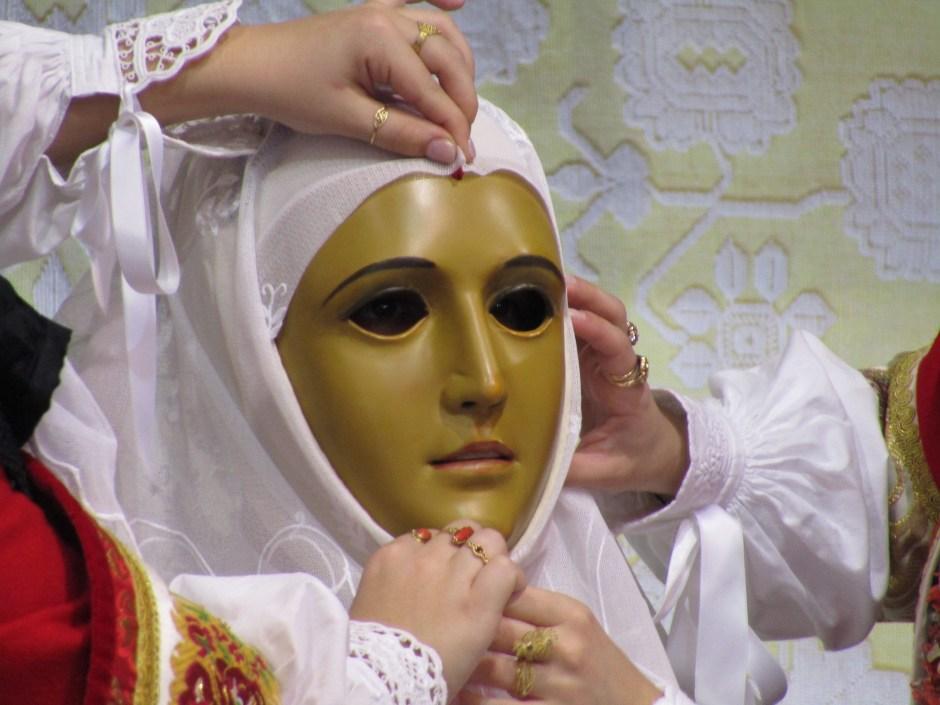 La maschera de su Componidori