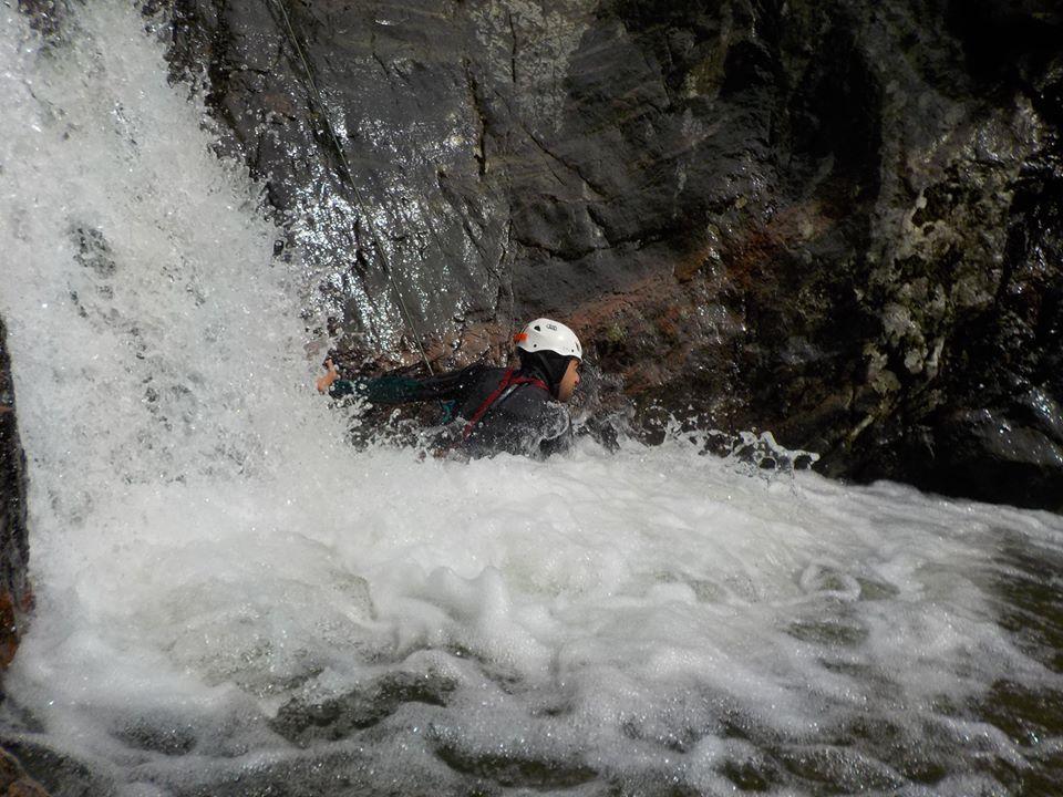 Canyoning Bau Alase Sardinia