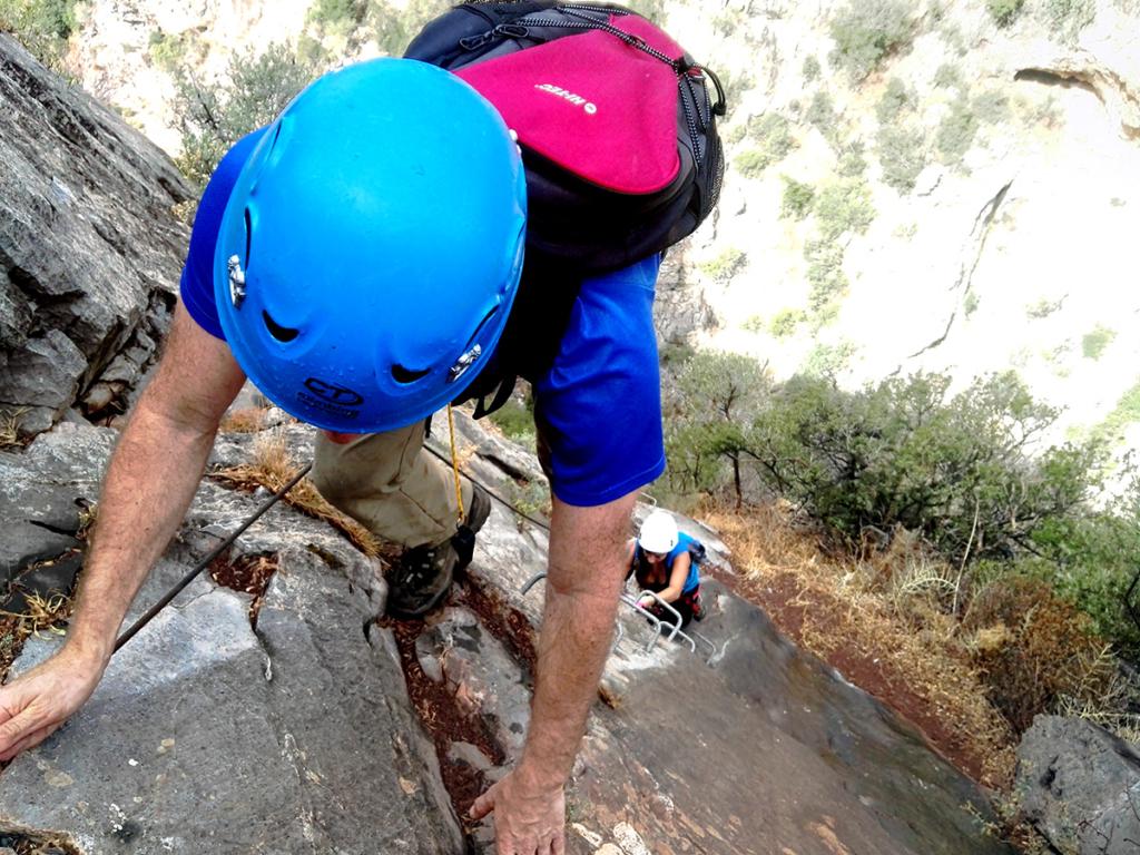 via ferrata, steel trek adventure, adrenaline