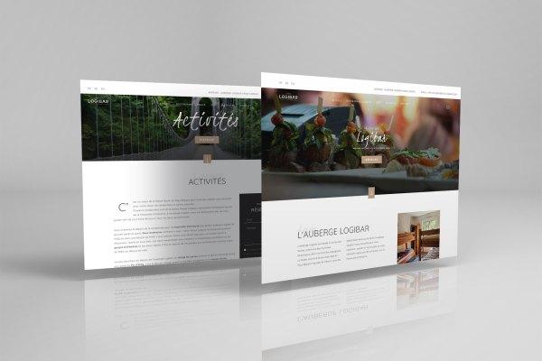 Site web de l'Auberge Logibar à Larrau