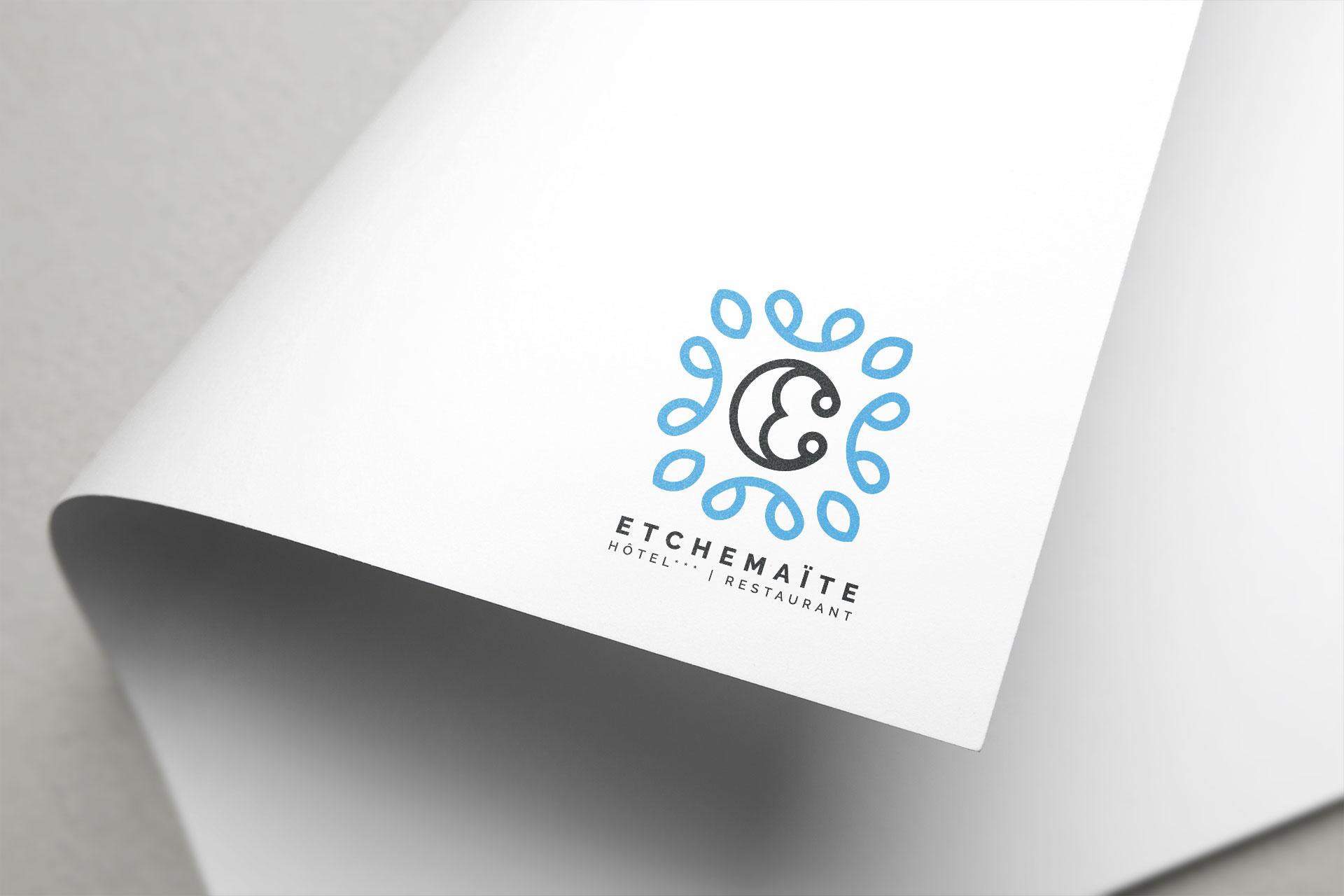 Logo Hotel Restaurant Etchemaite