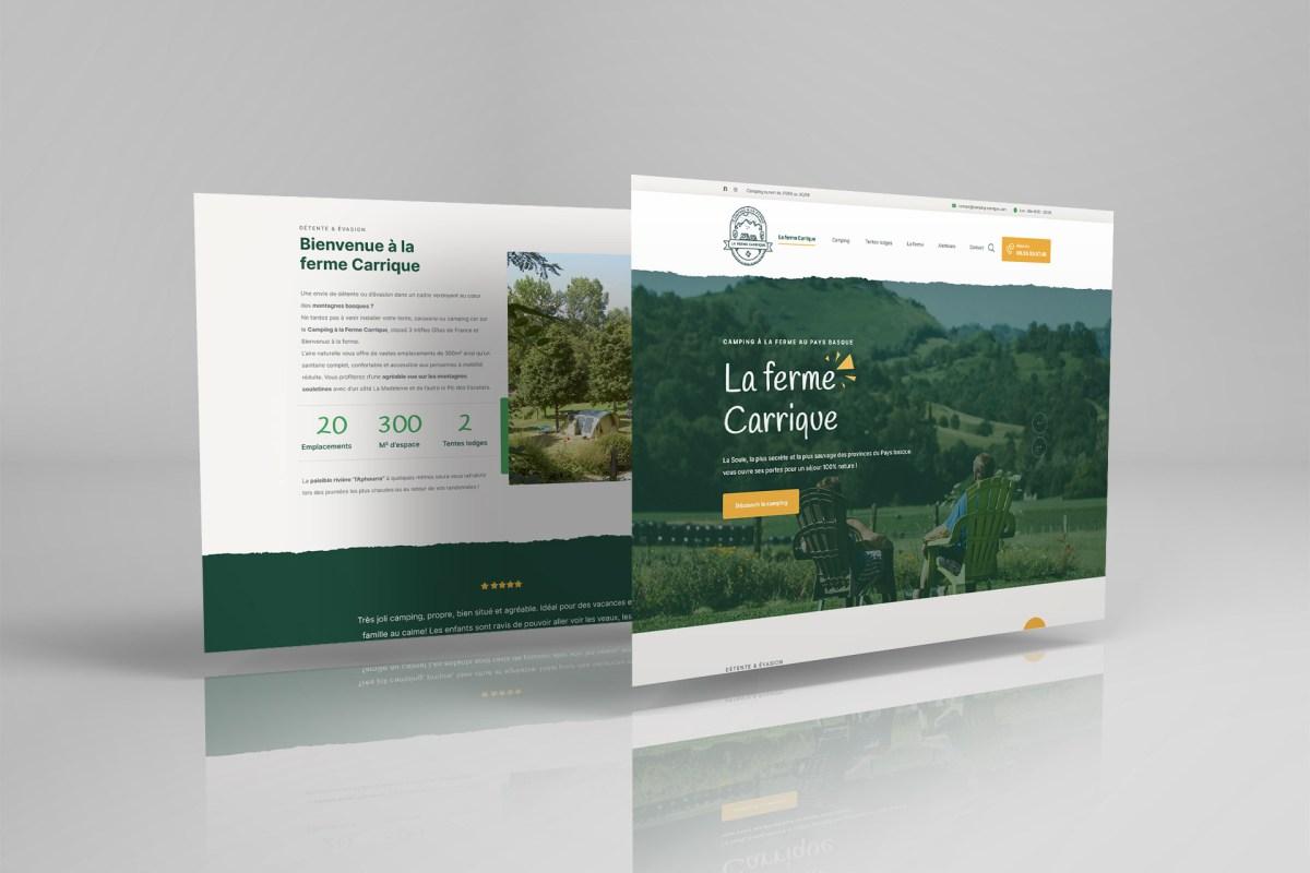 Ferme Carrique Alos Sibas Abense site web