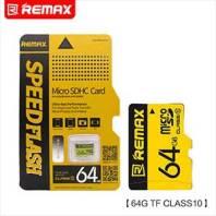 REMAX 64GB Micro SDHC Memory Card Class 10 533X