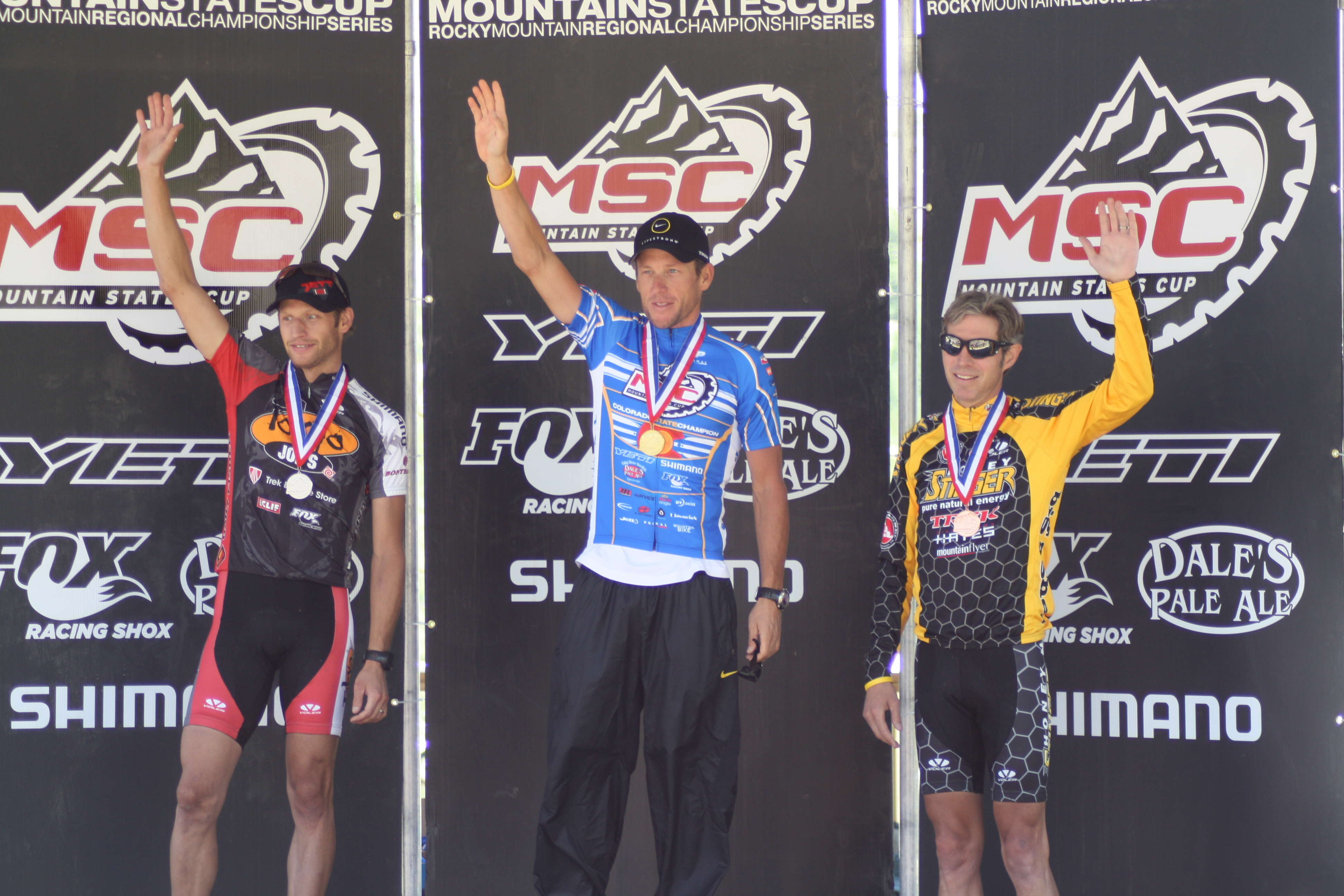Jay Henry, Lance Armstrong & Len Zanni