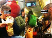 Mampfen in der U-Bahn reloaded