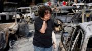 Waldbrände in Griechenland. Selbstzündung, Brandstiftung, Terroranschlag oder grobe Fahrlässigkeit?