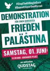 Aufruf zur Demonstration am internationalen Qudstag 2019