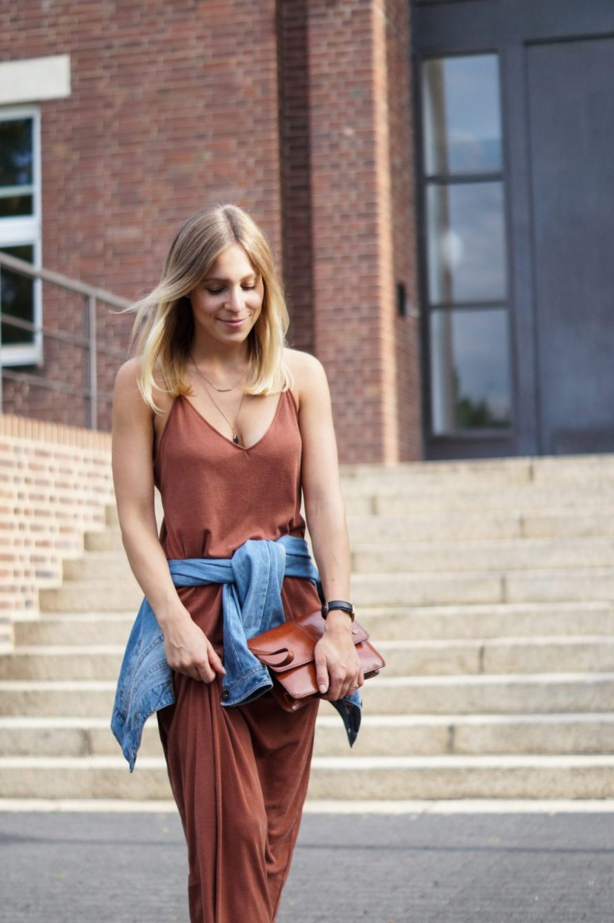 Rusty Red Maxi Dress