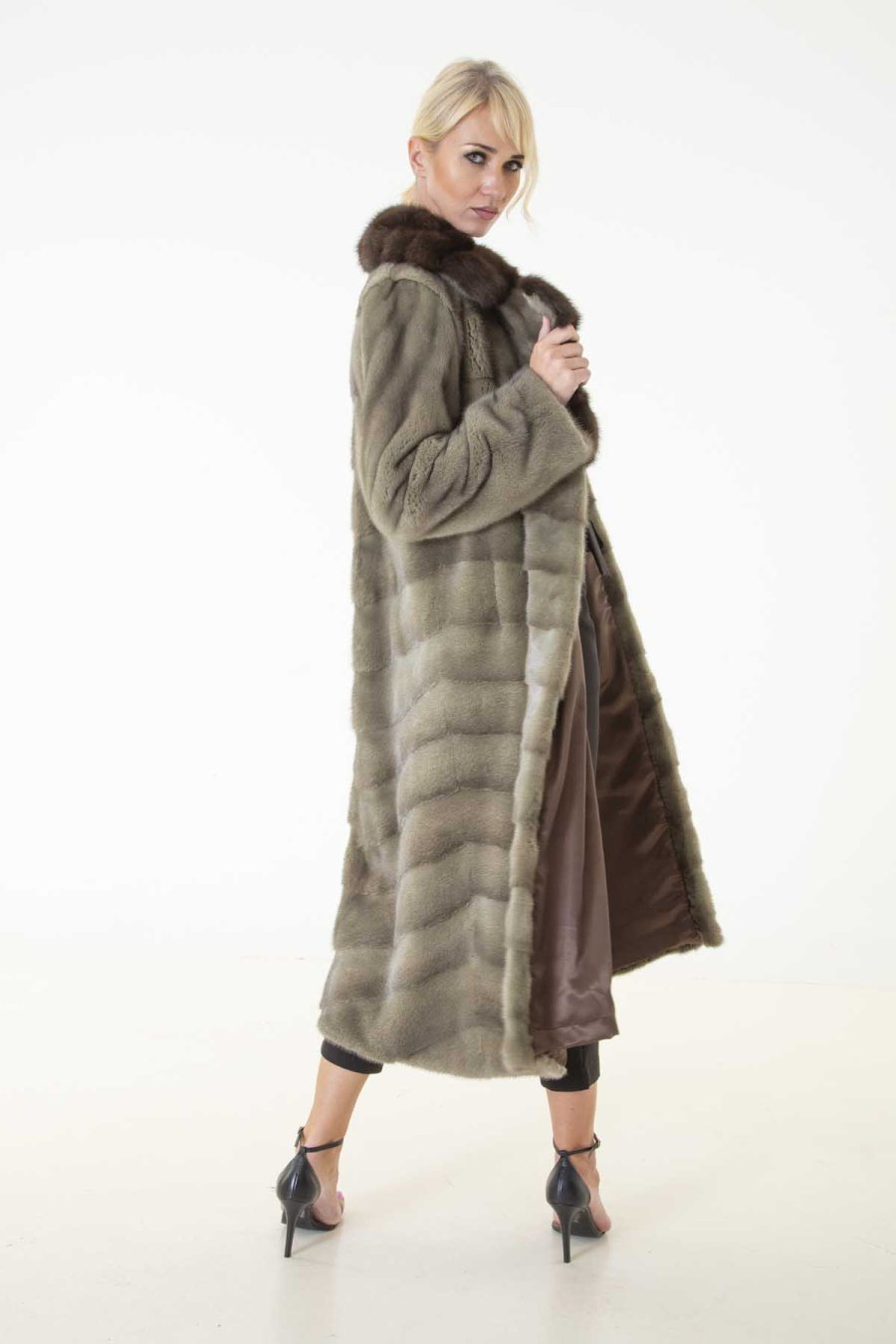 Auro - Male Mink Kopenhagen Coat | Sarigianni Furs