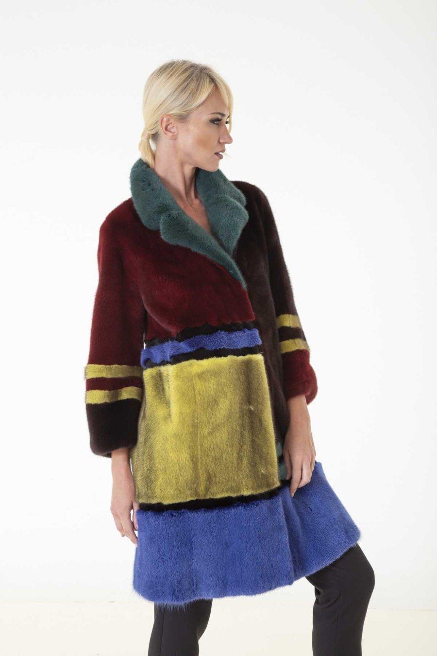 Male Mink Kopenhagen Jacket | Пальто из меха норки Kopenhagen - Sarigianni Furs