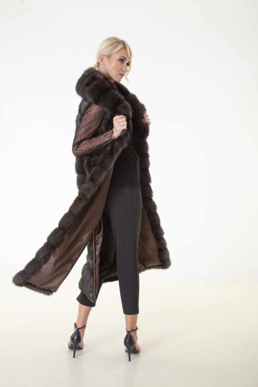 Barguzin Sable Fur Vest | Sarigianni Furs