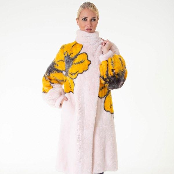 Rosa Scuro Male Mink Coat | Sarigianni Furs