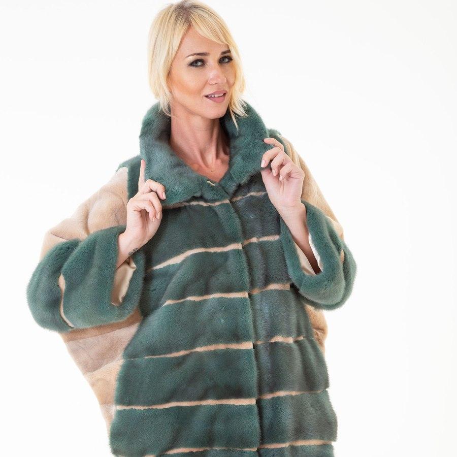 Esmeralda - Male Mink Fur Jacket | Sarigianni Furs