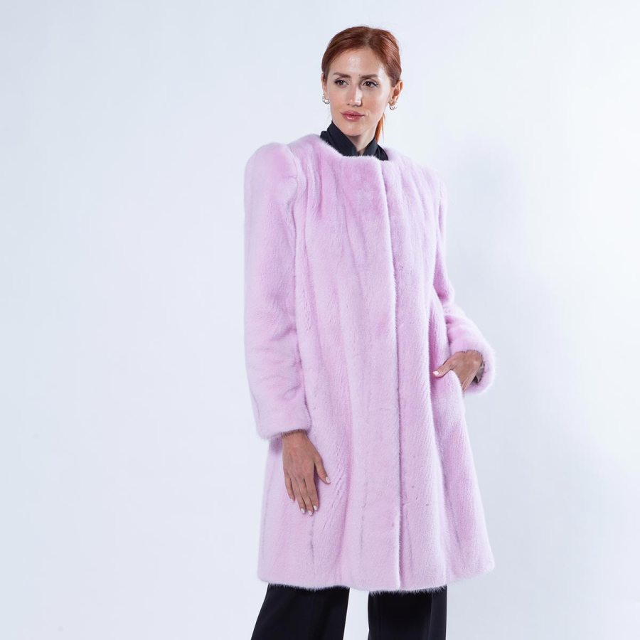 Mink Coat with chanel collar | Sarigianni Furs