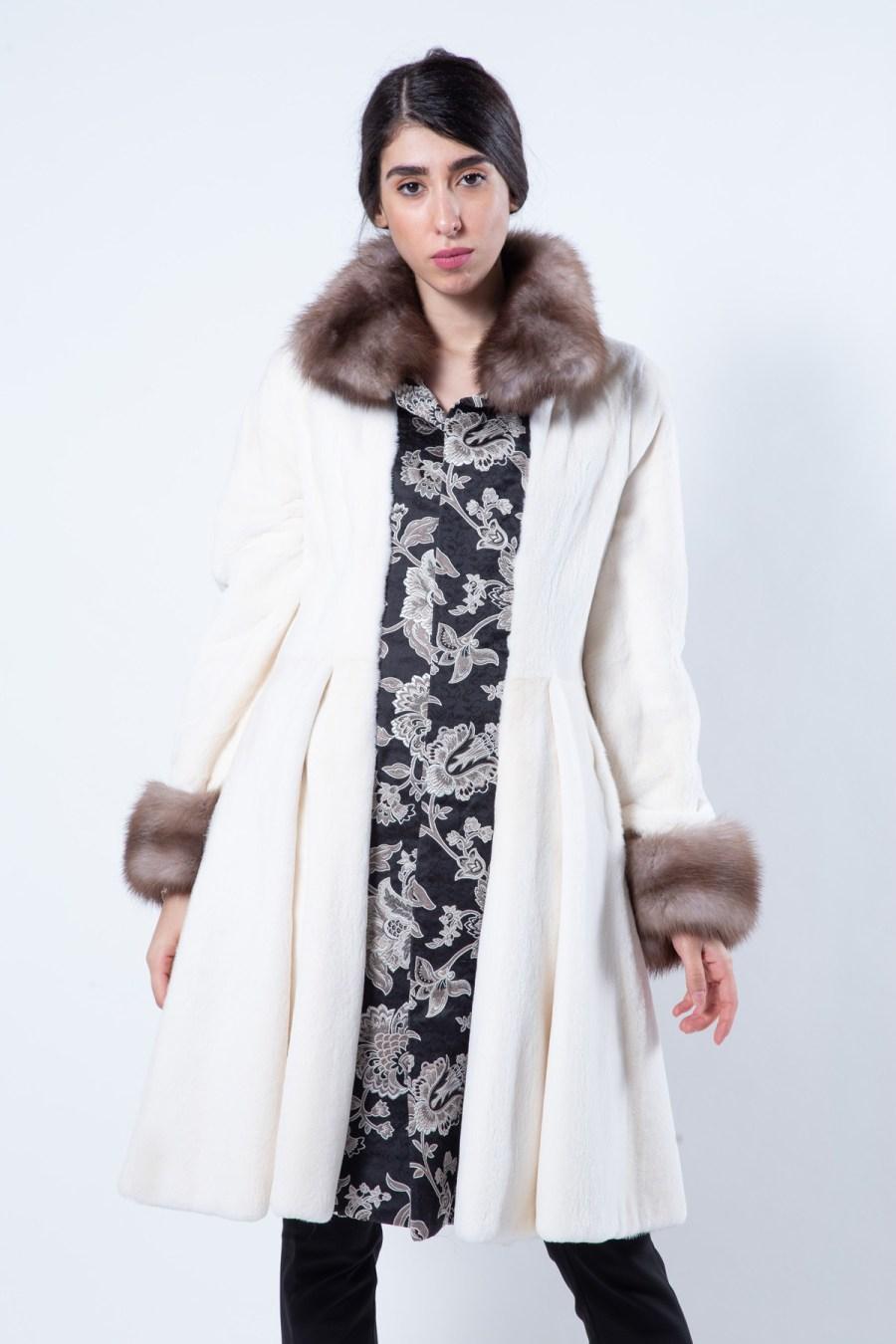 Pearl Sheared Mink Coat | Sarigianni Furs