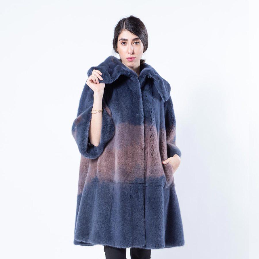Blue Mink Jacket | Sarigianni Furs