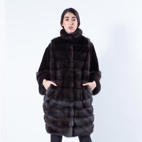 Esmeralda Barguzin Sable Jacket | Sarigianni Furs