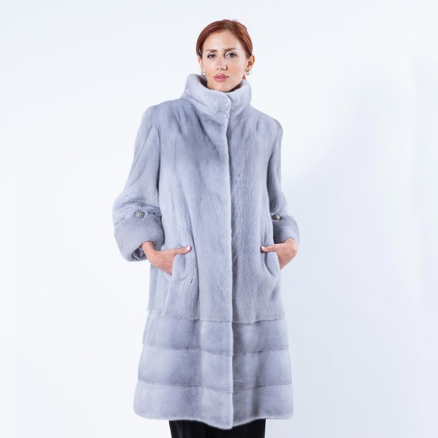 Sapphire Mink Coat | Sarigianni Furs