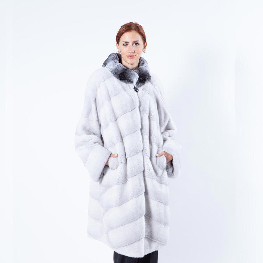 Violet Mink Coat | Sarigianni Furs