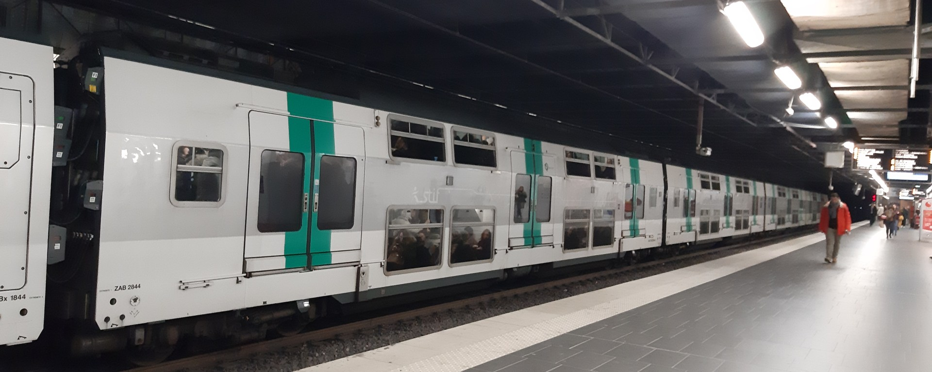 RER Train in Paris