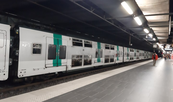 RER Train in Paris