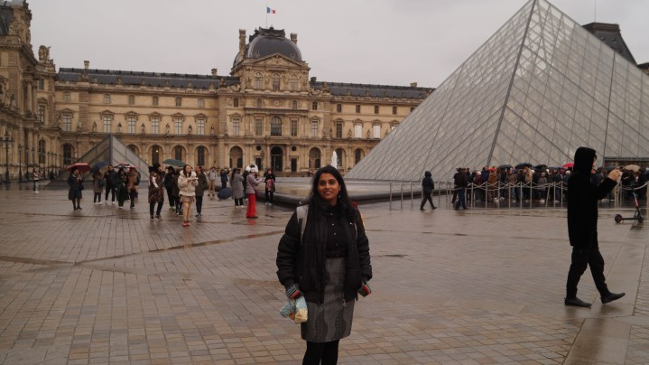 Louvre Museum - outside