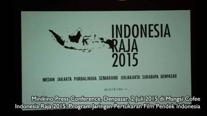 Indonesia Raja:Program Film Pendek