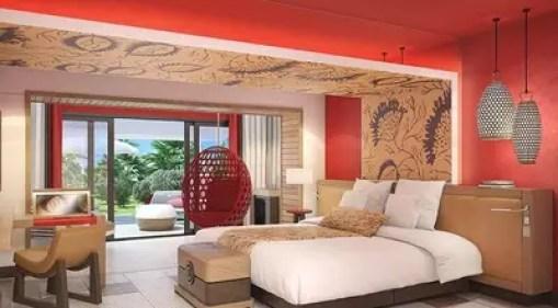 Ruang Kamar Interior Modern Minimalis, Club Med, Bali
