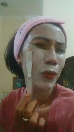 Review Masker Tepung Beras -by Sari Novita