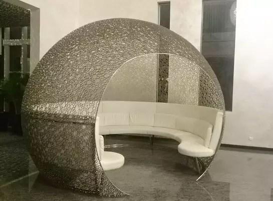 Unique chair on Hotel Fm7 by Sari Novita
