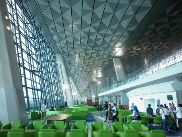 Terminal 3 Bandara Soekarno Hatta - Ruang Tunggu