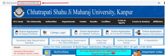 CSJM Kanpur University Scheme 1