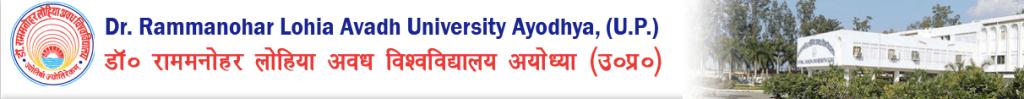 RMLAU Avadh University Result