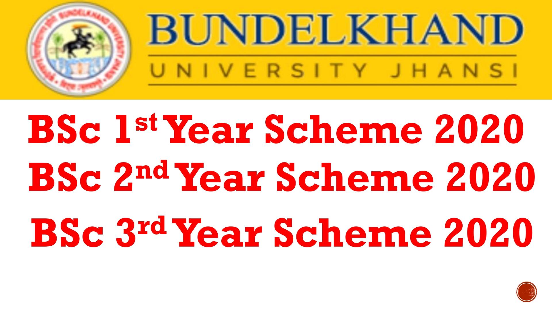 BU Jhansi BSc Scheme