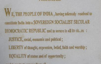 Indian Constitution Preamble