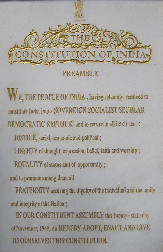 Indian Constitution History, preamble