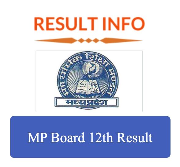 MP Board 12th Result 2020