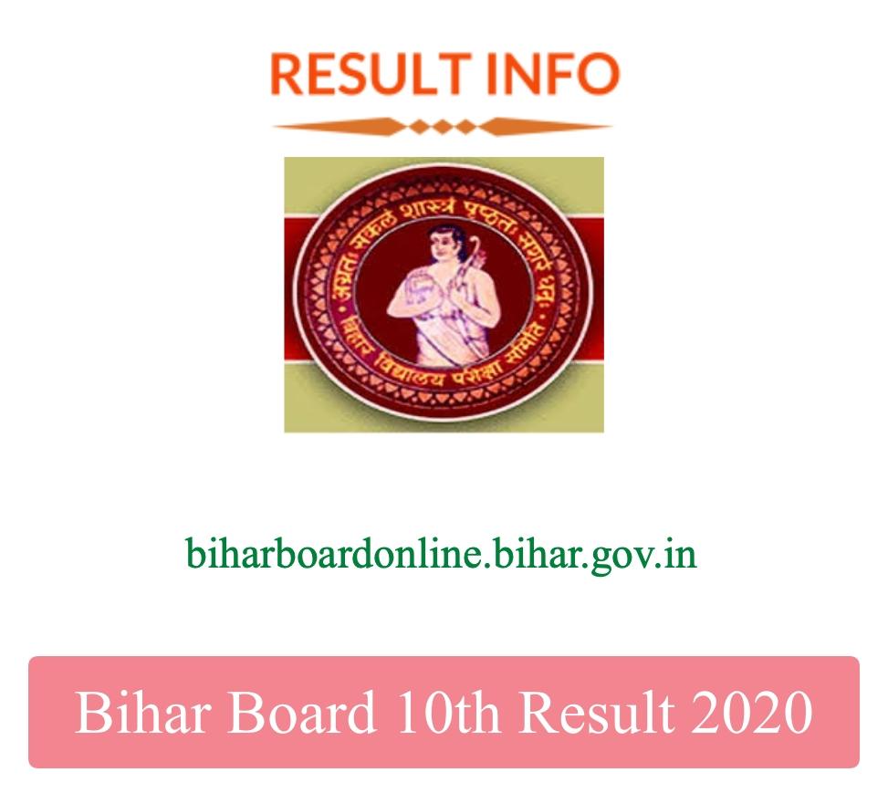 Bihar Board 10th Result