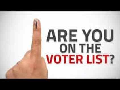 NVSP Voter ID status