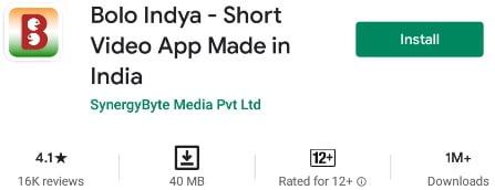 Bolo Indya App