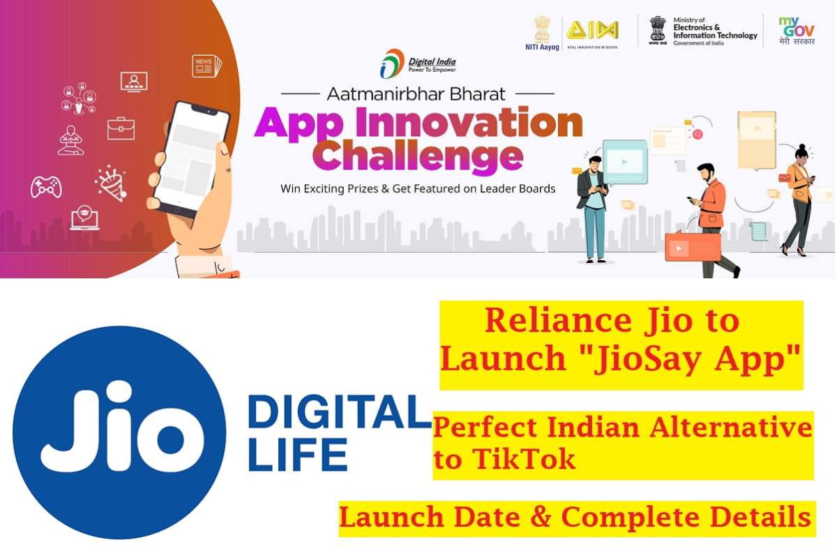 JioSay App Alternative to TikTok